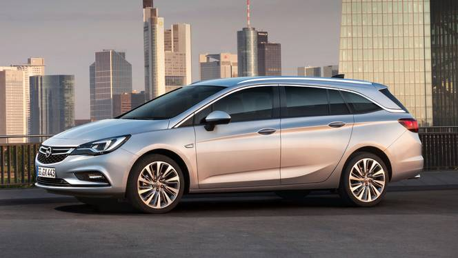Salon de Francfort 2015 - Opel Astra Sports Tourer : étirée