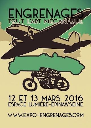 """""""Engrenages"""", tout l'art mécanique exposé les 12 et 13 mars 2016"""