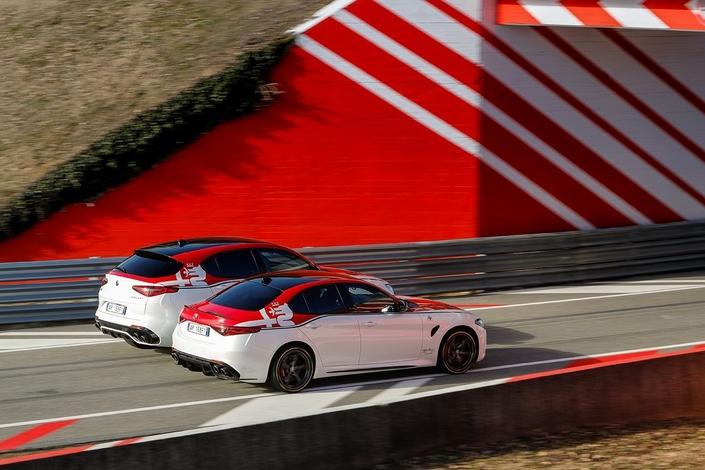 Salon de Genève 2019 : série spéciale Racing pour les Giulia et Stelvio