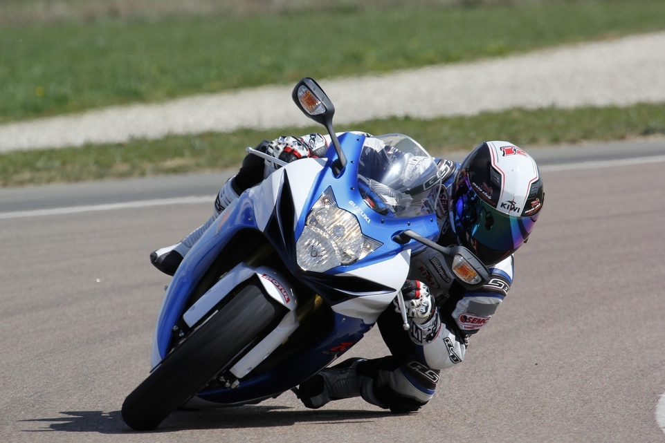Les essais d'Arnaud Vincent : Suzuki GSX-R 750 2014