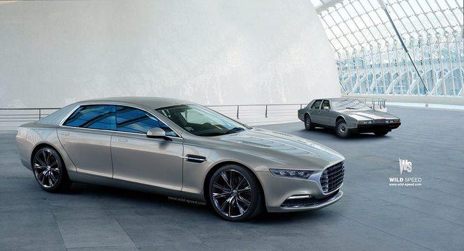 Future Aston Martin Lagonda : comme ça ?