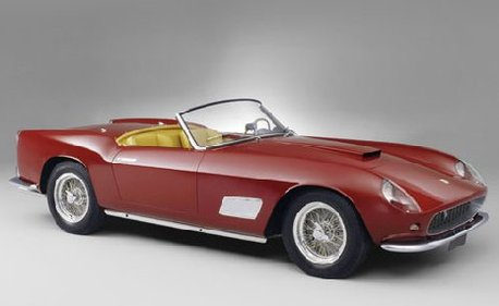 prix record 7 millions d 39 euros pour une ferrari 250 gt swb california spyder. Black Bedroom Furniture Sets. Home Design Ideas