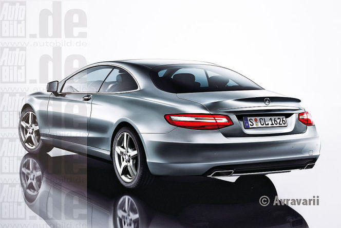 Surprise : la Mercedes Classe S Coupé (ou CL) pour la première fois