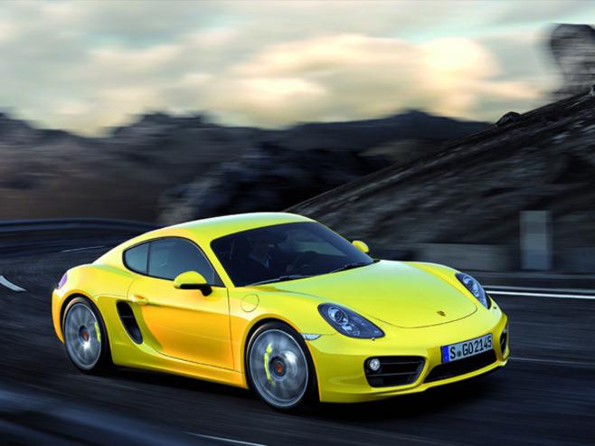 Toutes les nouveautés de Genève 2013 - Porsche Cayman : évolution