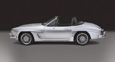 Transformez votre BMW récente en vieille Mercedes !