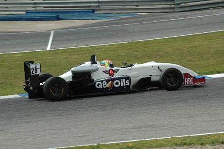 Formule 3 - Panciatici: Une entrée en matière mouvementée à Jarama