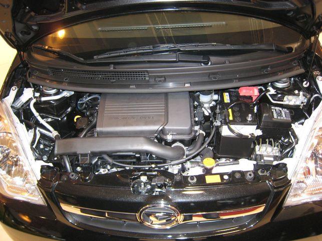 La Daihatsu Cuore ? 104 g CO2/km