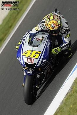 Moto GP - Australie: Rossi a sa première balle de match