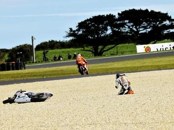 Moto GP - Australie: Lorenzo n'avait plus de frein avant