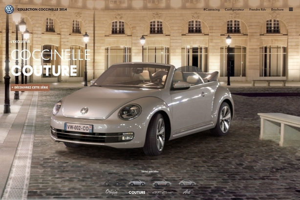 Volkswagen Coccinelle: une nouvelle collection