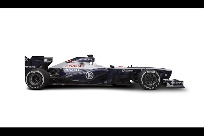 Williams F1 Team présente sa nouvelle FW35