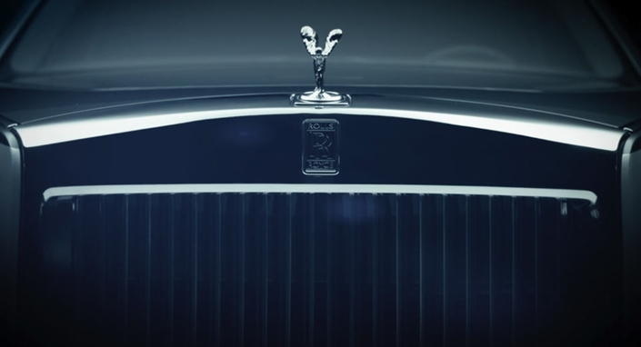 La nouvelle Rolls-Royce arrive