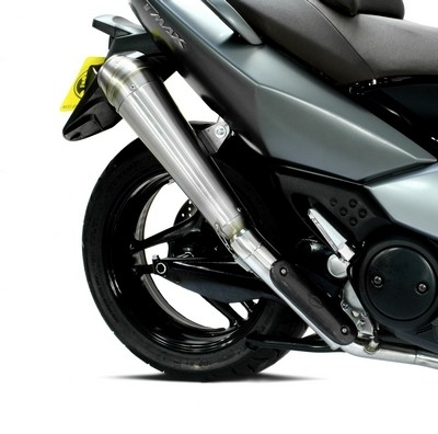 Maxi choix pour le maxi scoot Yam: Laser s'occupe du T-Max' 08
