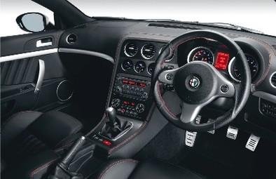 Alfa Romeo Brera S: régime light