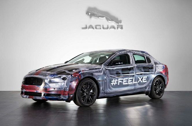 "Jaguar XE: 1ère image ""officielle""!"