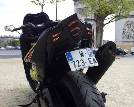 Yamaha T-Max 530 ABS Brasil à la sauce Pons Grande Armée