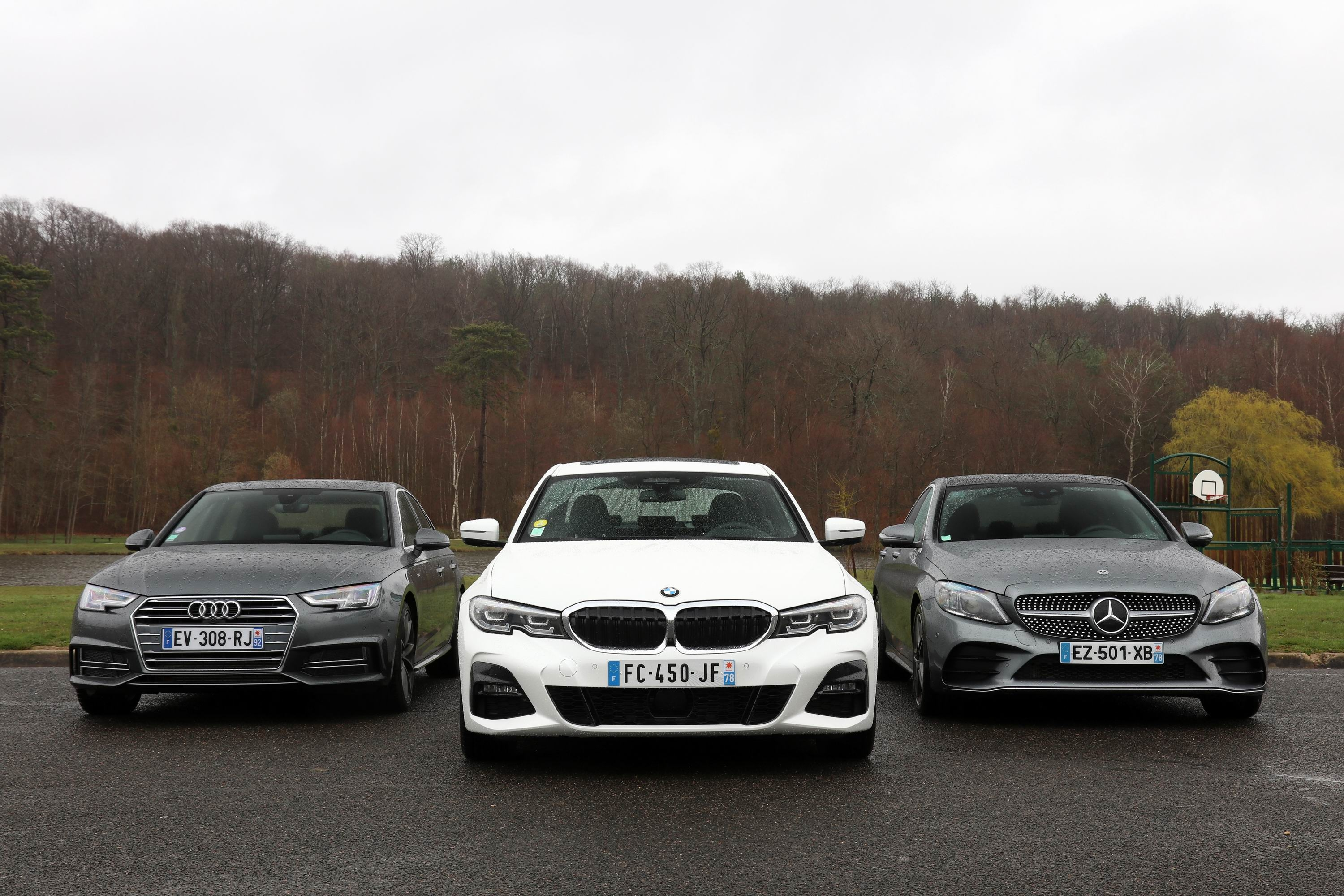 Comparatif Video Bmw Serie 3 Vs Mercedes Classe C Vs Audi