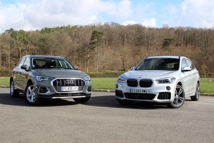 Le BMW X1est photographié en 20d M-Sport et non 18d Lounge