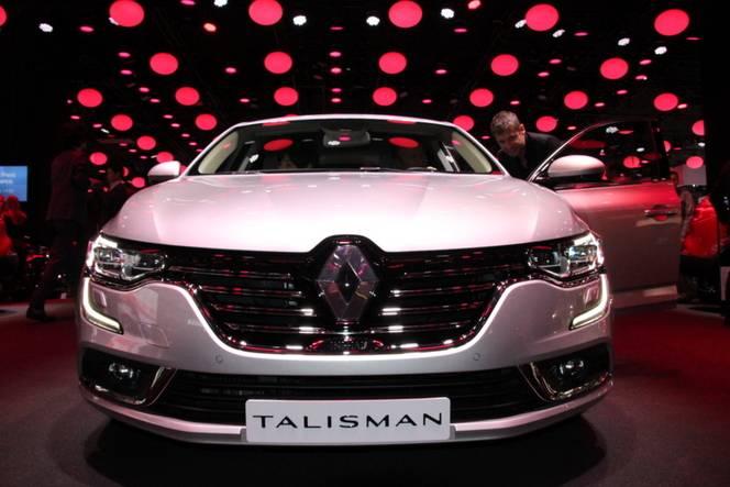Renault Talisman : le défi - Vidéo en direct du salon de Francfort 2015