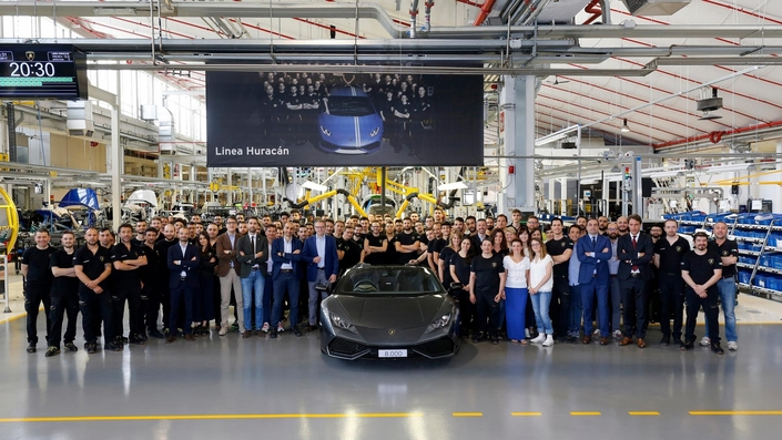 Lamborghini Huracan: le succès ne se dément pas