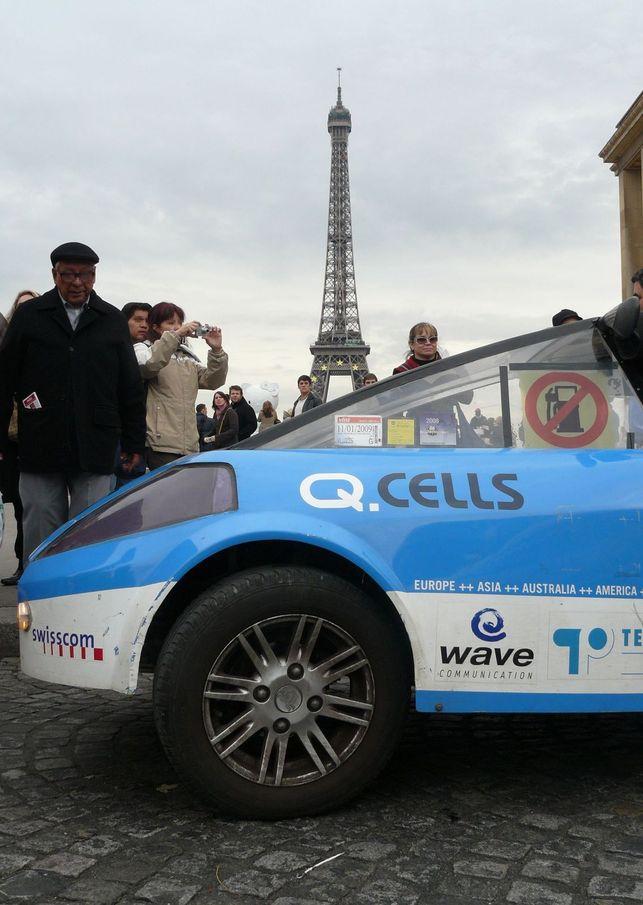 Un taxi à l'énergie solaire débarque chez PSA Peugeot Citroën !