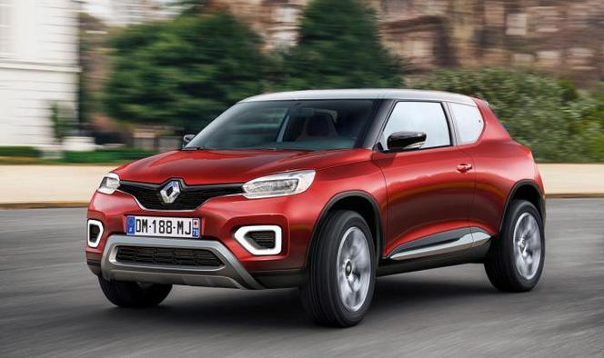 Futur Renault Kwid : comme ça ?