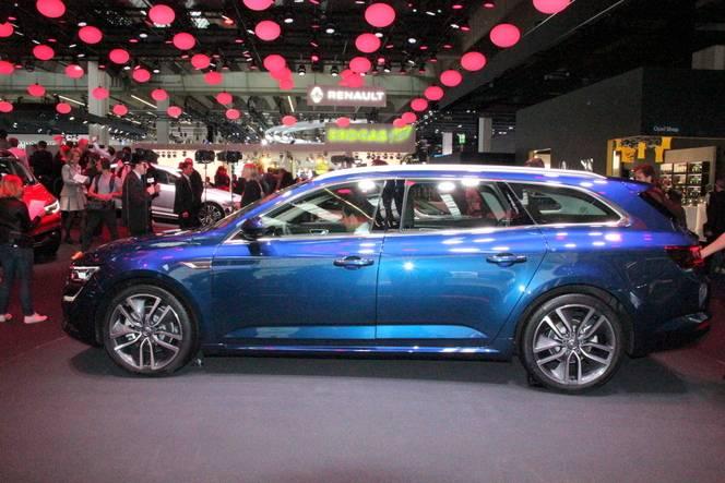 Renault Talisman Estate: ticket chic - Vidéo en direct du salon de Francfort 2015