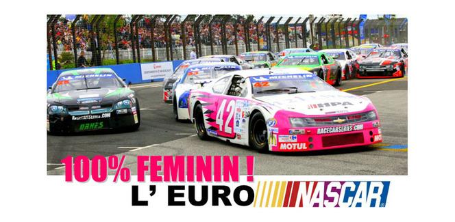 Caty Caly en Euro Racecar Nascar