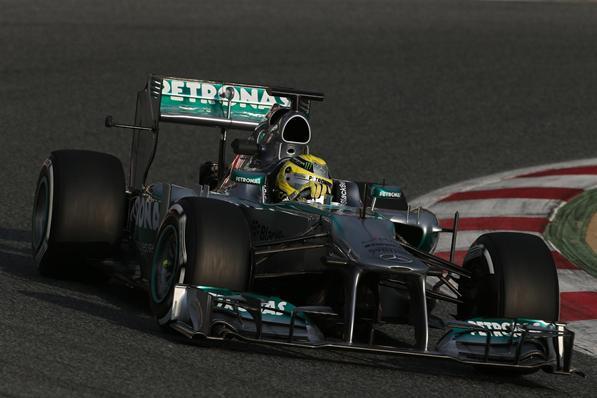 Essais F1 Barcelone Jour 1 : Nico Rosberg devance d'un rien Kimi Räikkönen