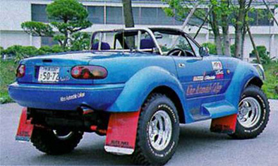Mazda MX-5 pour rampe raide