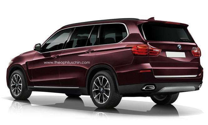 BMW : le X7 déjà imaginé