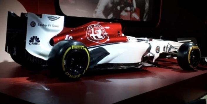 Alfa Romeo en F1, voilàles premières images