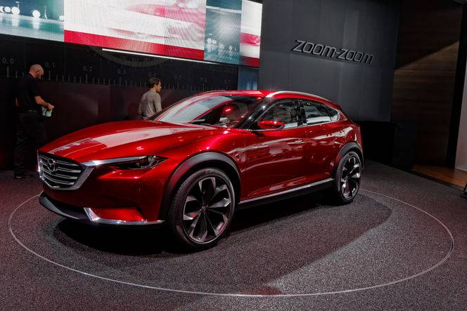 Mazda Koeru : Kodo style - En direct du salon de Francfort 2015