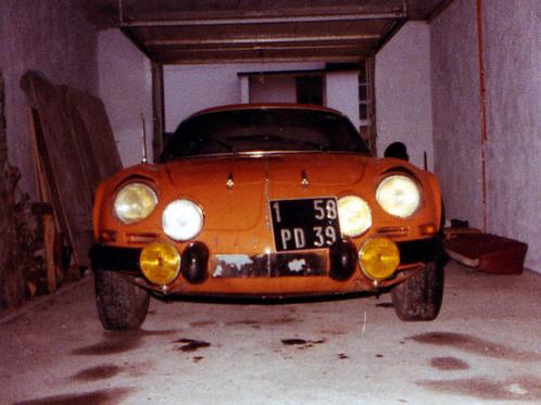 Entretien avec Jimmy, qui restaure une Alpine A110 de 1973