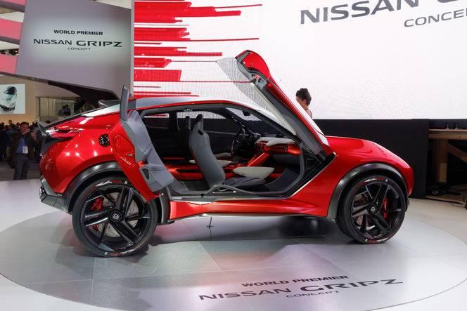 """Nissan Gripz Concept : """"inspiré"""" de la 240Z - En direct du salon de Francfort 2015"""