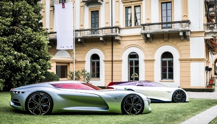 Renault Trezor : plus beau concept au concours d'élégance de la Villa d'Este