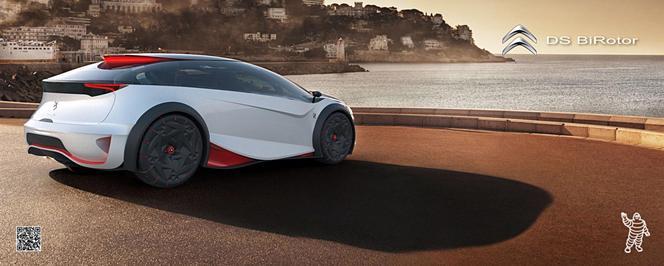 Citroen DS BiRotor Concept: désireux délire technologique
