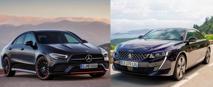 Les matchs du Salon de Genève 2019 - Mercedes CLA vs Peugeot 508