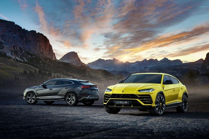 Le nouveau SUV Lamborghini Urus en hybride ?