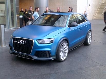 Toutes les nouveautés de Genève 2013 - Audi Q3 RS:  logique (mise à jour)
