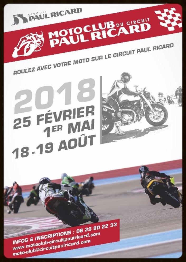 Circuit Paul Ricard: les dates 2018