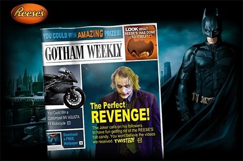 Batman offre sa MV Agusta pour le prix d'un Kit-Kat !