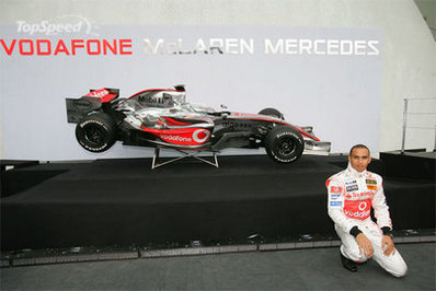 Formule 1: Hamilton casse sa McLaren