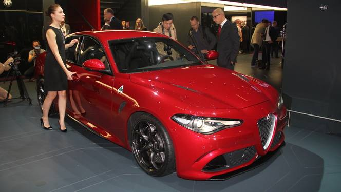 Alfa Romeo Giulia : (trop) ambitieuse ? - Vidéo en direct du salon de Francfort 2015