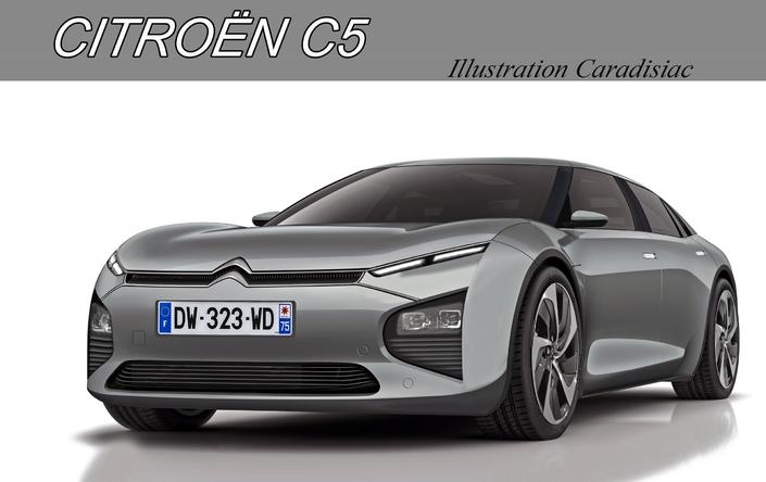 Citroën: une nouvelle C5 pour 2019