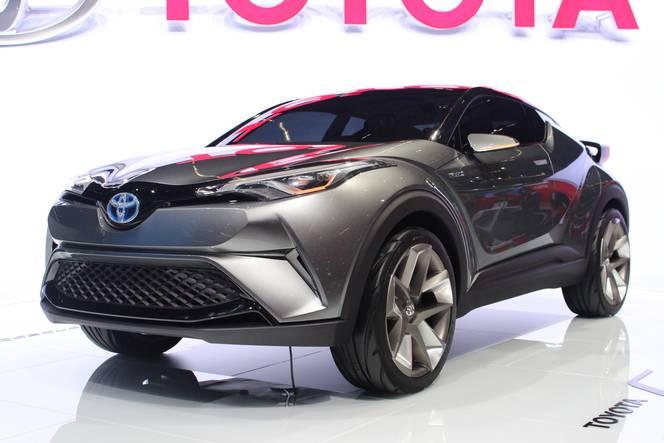 Toyota C-HR2 Concept : bientôt sur les routes - en direct du salon de Francfort