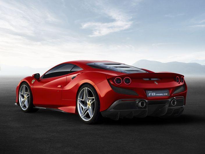 Geneva Motor Show 2019 - Ferrari unveils the F8 Tributo, which replaces the 488 GTB