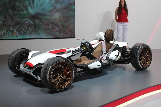 Honda 2&4 concept : l'excitante - En direct du salon de Francfort 2015