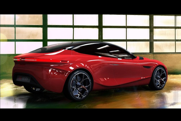 Genève 2013 : premières photos 3/4 AR de l'Alfa Romeo Gloria