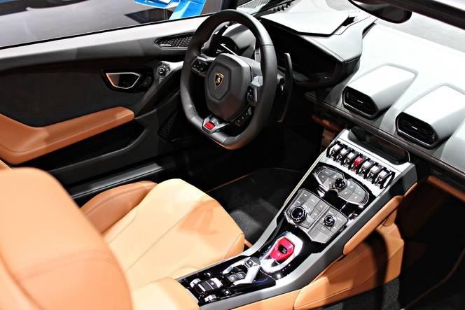 Lamborghini Huracan LP610-4 Spyder : décoiffante - En direct du Salon de Francfort 2015